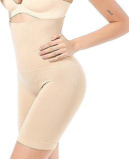 ZIMINGU 女式腰部训练塑身衣收腹塑身短裤下装高腰提臀大腿*