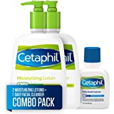 Cetaphil 丝塔芙 保湿乳液 适用于所有皮肤类型,身体和面部乳液, Cetaphil日常洁面乳,适合中性至油性皮肤…