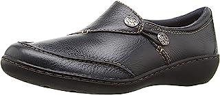 Clarks 女式 Ashland Lane Q 一脚蹬乐福鞋