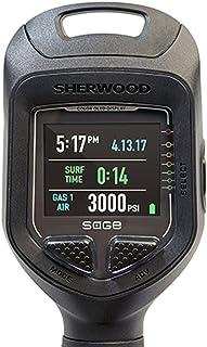 Sherwood Scuba Sage OLED 彩色屏幕空气集成潜水电脑与蓝牙集成