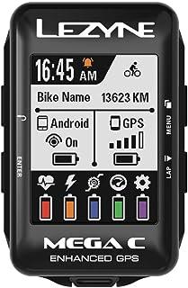 LEZYNE Mega C GPS 自行车计算机1-GPS-MEGAC-V104 均码 黑色