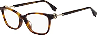 眼镜 Fendi 0363 /F 0086 Dark Havana / 00 Demo 镜片