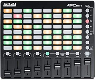 Akai Professional 小型 USB MIDI控制器 64 个夹子 Ableton Live Lite APC mini