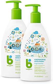 BabyGanics 甘尼宝贝 保湿乳液 不含香料 17盎司(2包装) 34