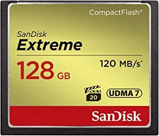 SanDisk Extreme CompactFlash Card SanDisk Extreme CompactFlash Card 黑色 128 GB