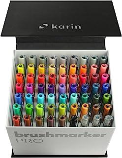 KARIN Megabox 喷墨笔 PRO 水性喷墨笔 适用于绘画 描绘 涂鸦 63支