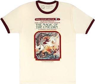 Out of Print 中性款/男式经典儿童书籍主题 T 恤
