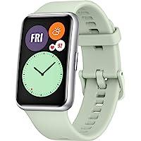 HUAWEI 华为 WATCH FIT 智能手表,1.64 英寸 AMOLED 显示屏,快速锻炼动画,10 天电池续航时…