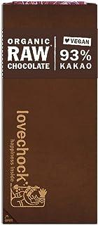 Lovechock Bio Raw Choco vegan, Kakao 93%, 1 Pack ( 70 g)