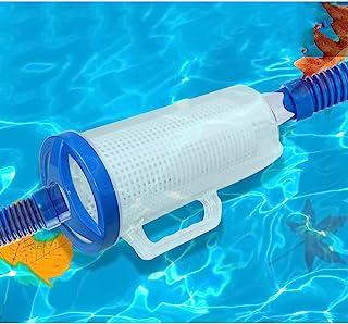 大型泳池叶罐,直列式叶罐,带网状篮子,兼容 Hayward 泳池清洁器,适用于自动和手动泳池清洁器