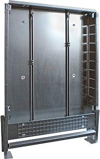CI Vario 80 2 至 4 种输出,镀锌钢,1 毫米厚,带弯曲管轨和石膏板,颜色钢(1048106)