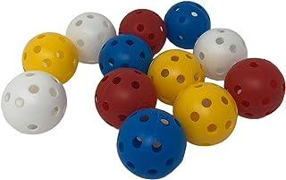 Pandy's Toy Box 塑料练习高尔夫球 - 限量版飞行彩色气流高尔夫球