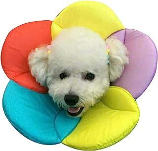 nacoco 宠物 e-collar elizabethan 项圈恢复宠物圆锥猫和小型犬透气软边缘和易于清洁 Multicolour XL