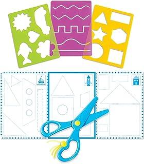 Learning Resources Trace Ace 剪刀式技能套装,精细运动,干式技能,适合3岁以上的人群