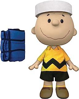 花生:超大尺寸查理·布朗 16 英寸乙烯树脂人形玩具