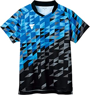 ◎VICTAS 短袖 乒乓球比赛衫 V-GS220 男女通用 乒乓球512101-1050 男士