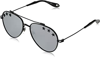 Givenchy GV7057/STARS 807 Black GV7057/STARS Aviator Sunglasses Lens Category 3