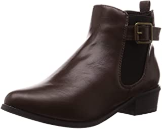 Libertidile 美丽的轮廓、尖头美腿侧橡胶靴 9004 女士