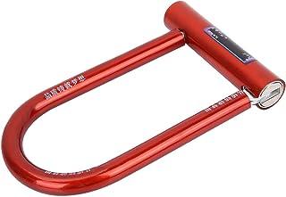 keenso 自行车 U 型锁,自行车 U 型锁,钢制防盗锁,防水防锈纯铜芯锁
