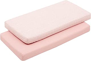 Cambrass 46123 2 Fitted Sheet - Cot 60 60 x 120 x 1 厘米 森林粉色