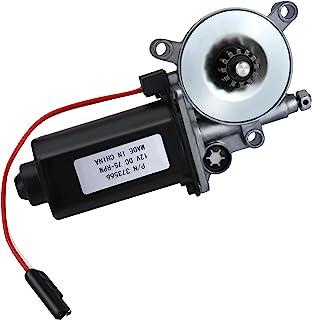 RV Power Awning 通用替换电机 373566 兼容 Solera Power Awnings 带单双向连接器,75-RPM 12 伏直流电,坚固耐用