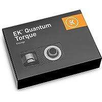 EKWB EK-Quantum 扭矩 HDC-14 压缩接头刚性管,14mm 外径,黑镍,6 件装