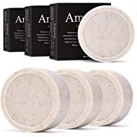 Ameiot 男士肥皂,手工手工香皂,含天然成分,有助于皮肤保湿,深层清洁,男士沐浴皂(6 巴)