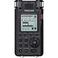 Tascam DR-100MKIII 192kHz / 24位立体声便携式录音机,黑色