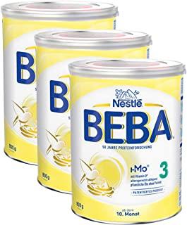 Nestlé 雀巢 BEBA 婴儿奶粉 3段(适用于10月以上婴儿),3罐装(3 x 800g)