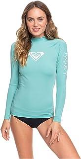 Roxy 女士全心全意 - 长袖*衣 UPF 50 适合女士 L/sl 冲浪 T 恤