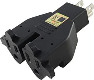 Conntek RL-30104 美国 3 叉重型双插座适配器