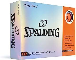 Nitro Spalding Pure Spin 12 球套装 - 橙色