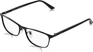 GUCCI 古驰 时尚眼镜 适合日本人脸型 黑色-黑色-透明 日本码均码(56,17,145毫米) GG0133OJ