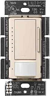 Lutron Maestro LED+ 运动传感器调光开关   无需中性  MSCL-OP153M-LA   浅杏仁色