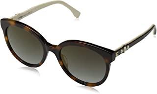 Fendi FF 0268/S ‑ Dark Havana 0086 Sunglasses