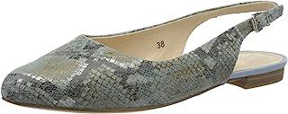 CAPRICE 29400-22 女式吊带高跟鞋 露跟女鞋 皮革时尚
