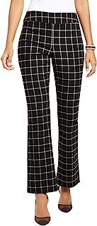 INC International Concepts 女式 Windowpane 套穿靴裤