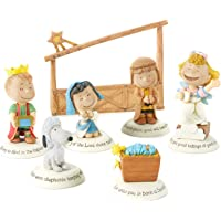 Hallmark 2014 Glad Tidings Nativity Peanuts Gallery Figurine…