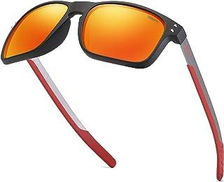 ROUPAI 中性偏光铝太阳镜复古太阳镜男式/女式 TR90 结实框架 2556R