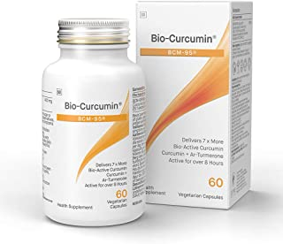 Coyne Healthcare 生物姜黄素补充剂 Bcm-95 60粒蔬菜胶囊