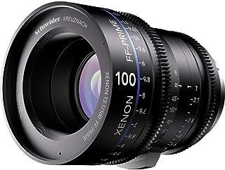 Schneider-Kreuznach 1078482 Cine 镜头,FF-Prime T2.1/100毫米,佳能/ft,黑色