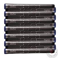 Winn 9 或 13 件套 DRITAC AVS 中号高尔夫握把,灰色(Dri-Tac)