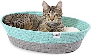 Kitty City 棉绳编织猫床,猫屋 - 颜色可能不同