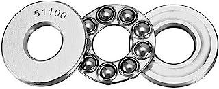 5 件 51100 推力球轴承 10 毫米 x 24 毫米 x 9 毫米轴承钢单列滚柱