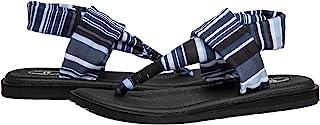 WOTTE 女式瑜伽垫夹趾凉鞋吊带人字拖