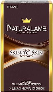 Trojan Naturalamb Lubricated Condoms (Packaging May Vary)