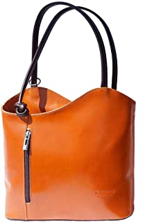 JAENIS NICHOLE 可转换背包单肩钱包 正品意大利皮革手提包 女式 - Cloe