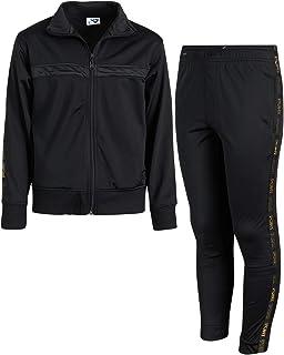Pony 男童运动服套装 - 拉链运动夹克和运动运动裤