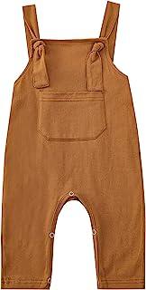 男婴服装绅士服装男婴女孩背带裤一件式连身衣口袋套装