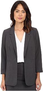 kensie 女式石南弹力绉纱外套